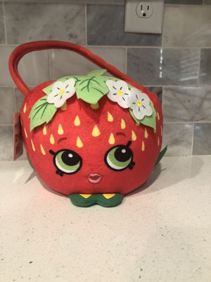 Shopkins plush Halloween Trick or Treat bucket for Sale in Rancho Cordova, CA