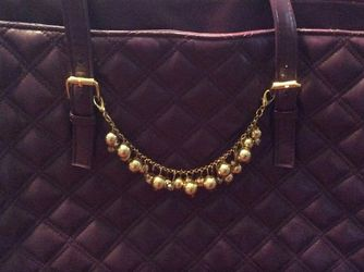Joy & Iman Purple Tote bag, Quilted for Sale in Seattle,  WA