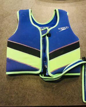 Speedo Shark boys 4-6 years old life vest for Sale in Austin, TX