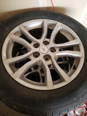 Tire and rins 245/55/18 for Sale in Turlock, CA