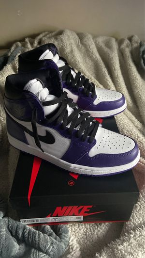 Air Jordan 1 Court Purples for Sale in Lansdowne, VA