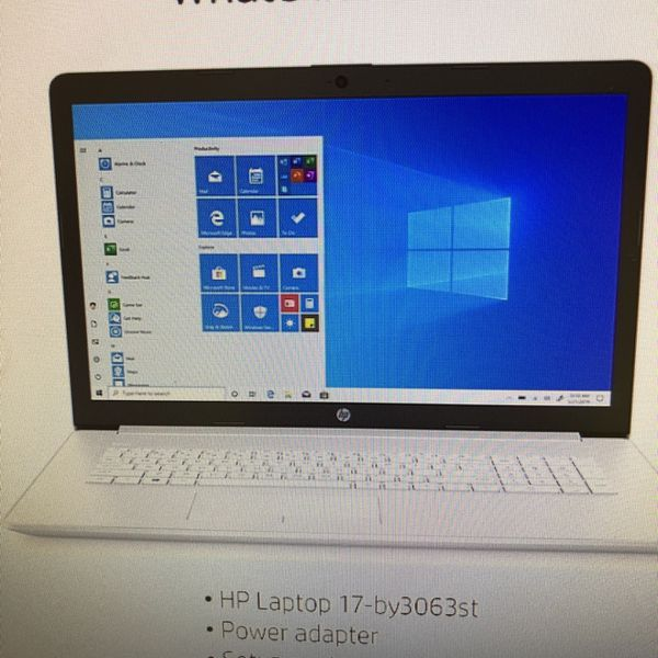 "HP 17.3"" Notebook Intel i3 8gb 118gbSSD +1TB"