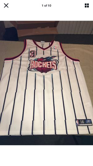 Nwot Authentic 2003 Reebok Houston Rockets Steve Francis White Jersey 56 Clean for Sale in Rochester Hills, MI
