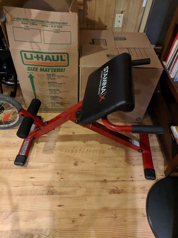 StaminaX workout equipment