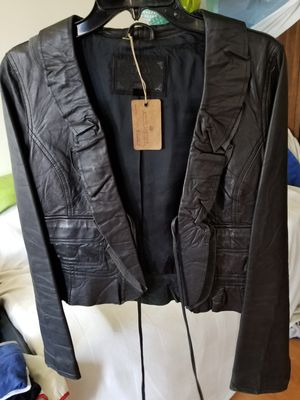 FREE! Women's Old Navy leather jacket size medium for Sale in Covina, CA