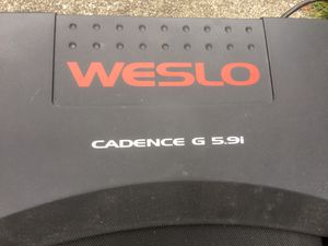 Weslo treadmill for Sale in Puyallup, WA