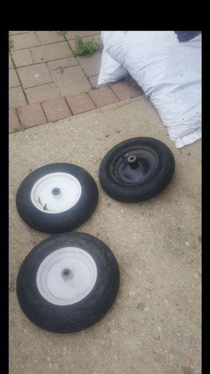 3 wheelbarrow tires for Sale in Columbus, OH