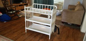 Solid wood changing table. Cream color. for Sale in Plantation, FL