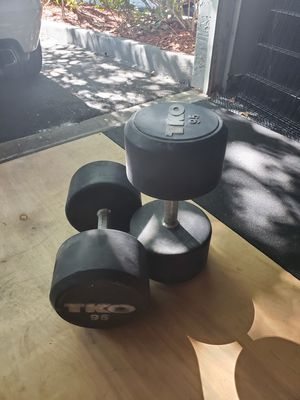 95lb Dumbells for Sale in Windermere, FL