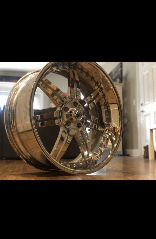 22 inch Asanti wheels