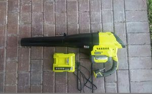 The Ryobi 40-Volt Lithium-ion Cordless Blower boasts gas-like power for Sale in Tampa, FL