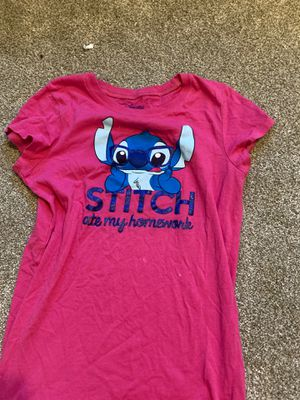 hot pink stitch t shirt size 14/16 for Sale in San Jacinto, CA