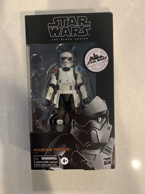 Mountain Trooper Black Series Figure Star Wars Galaxy's Edge Trading Post Target Exclusive E9626 Disney Hasbro for Sale in Highland Village, TX
