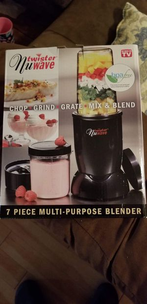 As Seen on TV NuWave Twister Blender and Chopper, 7 piece set for Sale in Lexington, NC