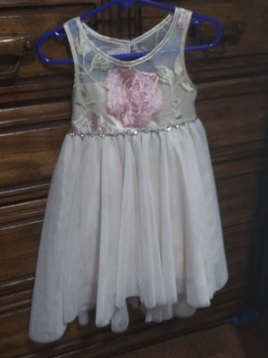 2T girl Ivory dress for Sale in Chicago, IL