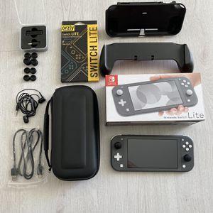 Nintendo Switch Lite Gray / Accessories for Sale in Miami, FL