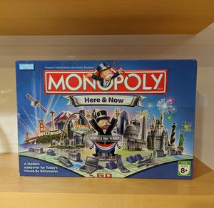 Monopoly Here and Now Edition 2006 Board Game for Sale in Los Angeles, CA