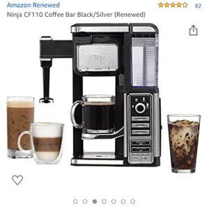 Ninja Coffee Maker Black/Silver (OBO) for Sale in City of Industry, CA