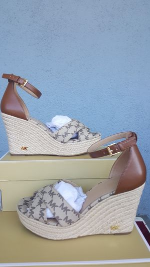 New Authentic Michael Kors Women's Wedges Sizes Available 8-10 for Sale in Montebello, CA
