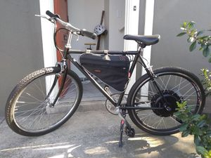 Electric bicycle E bike + accessories for Sale in San Francisco, CA
