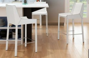Zuo Modern Contemporary Fashion 26 in. Counter Stool - Set of 2 for Sale in Indianapolis, IN