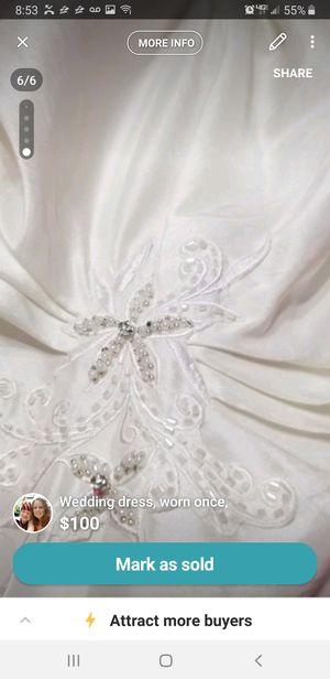 Wedding dress for Sale in Haysville, KS