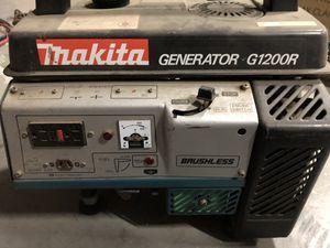 Makita generator G1200R for Sale in Riverside, CA