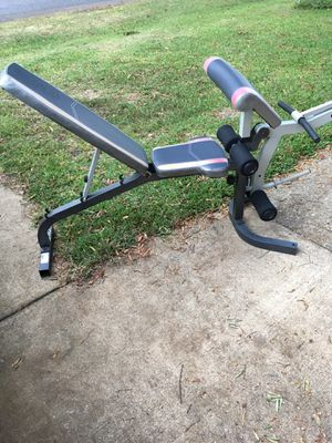 Weight bench with preacher curl for Sale in Portsmouth, VA