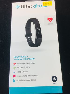 Fitbit Alta - Small - New - $120 for Sale in Beverly Hills, CA