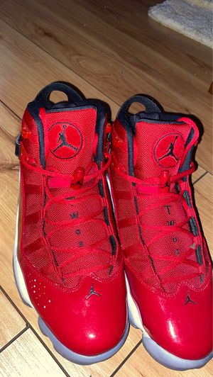 Jordan 6 rings (Gym red size 12) New for Sale in Boynton Beach, FL