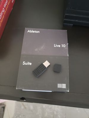 Ableton live 10 SUITE EDITION for Sale in Chandler, AZ