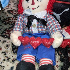 Vintage Raggedy Andy I Love You Doll for Sale in Magnolia, TX