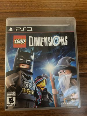 PlayStation 3 game LEGO dimensions for sale for Sale in Clifton, NJ