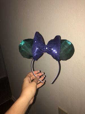Little mermaid mickey ears for Sale in Winter Park, FL