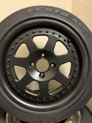 15x7 Rota Jmags, 4x100 . For trade for Sale in Davenport, FL