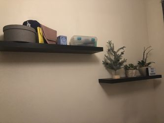 IKEA wall shelves x2 and 3-size cube wall shelf for Sale in Brooklyn,  NY
