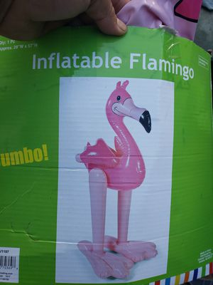 Flamingo inflatable balloon for Sale in Los Angeles, CA