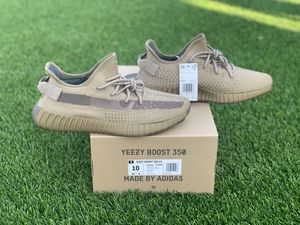 Yezzy adidas 350 Earth size 10 ds with receipt 100% authentic for Sale in Los Angeles, CA