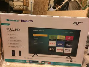 BRAND NEW ROKU SMART TV - FULL HD - 40 inches for Sale in Des Plaines, IL