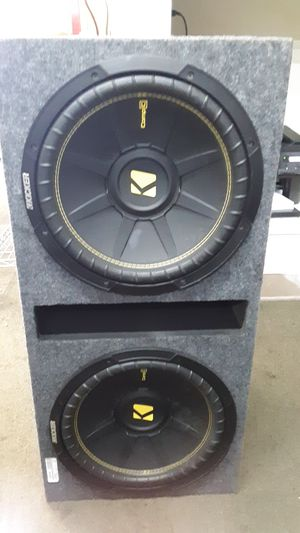 Kicker amplifier CXA.300.1 for Sale in Lakewood, CO