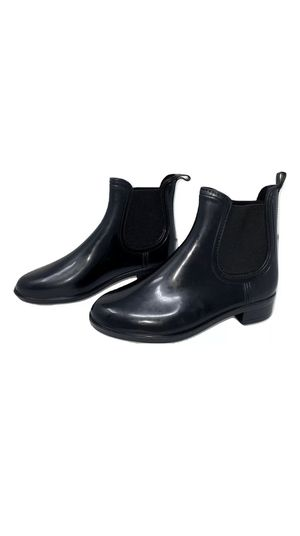 Shoes of Soul Women's Chelsea Rain Boots Black for Sale in Burbank, CA