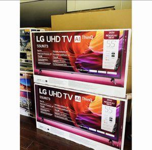"""55"""" Lg UHD TV ThinQ smart 4K for Sale in Nuevo, CA"""