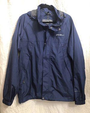 Medium Eddie Bauer waterproof men's medium waterproof wind rain jacket for Sale in Surprise, AZ