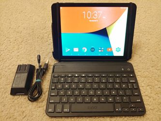 "Touchscreen 7.9"" Tablet + iPad Mini Zagg Bluetooth Keyboard (Laptop/Tablet 16gb Nuvision) for Sale in Kenmore,  WA"