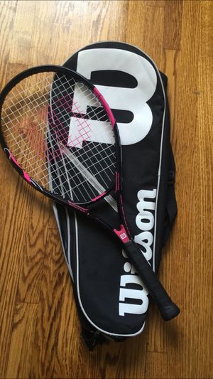 Wilson Tennis Racket and Bag for Sale in East Los Angeles, CA