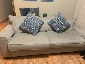 Sofa and love seat beige fabric for Sale in Fremont, CA