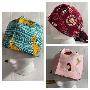 Scrub Hats, Miami Heat, UM, Gators, FSU, Dolphins etc. for Sale in Miami, FL