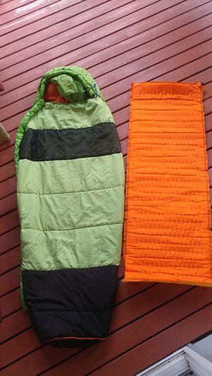 Kids sleeping pad and sleeping bag for Sale in Everett, WA