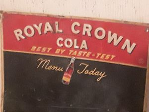 Rc cola tin antique sign for Sale in Pleasant Hill, MO