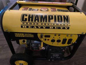 Generator portable powered gas (7000w)#(6000w) for Sale in Houston, TX